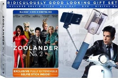 zoolander no 2 w selfie stick bd dvd digital copy exclusive. Black Bedroom Furniture Sets. Home Design Ideas