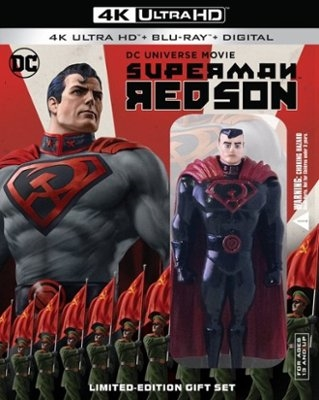 Superman Red Son 4k W Figurine Bd Digital Copy Exclusive
