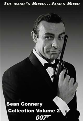 The Sean Connery Collection Vol  2 - James Bond 007 - Thunderball / You  Only Live Twice / Diamonds Are Forever HD Digital Copy Code (UV)