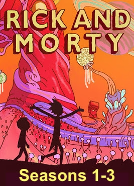 Rick and Morty: Seasons 1-3 HD Digital Copy Code (UV)