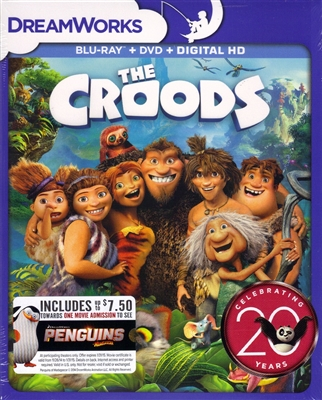 The Croods Dreamworks 20th Anniversary Edition Bd Dvd