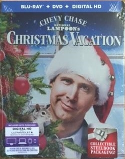 national lampoons christmas vacation 25th anniversary edition steelbook bddvd digital copy